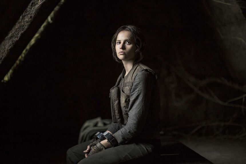 Felicity Jones plays Jyn Erso, the daughter of Galen Erso (Mads Mikkelsen), a scientist whose allegiances are a little ambiguous.