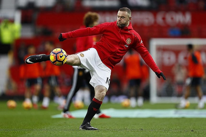 Due to United's wealth of attacking options, captain Wayne Rooney is not assured of returning to the side for today's game against Crystal Palace, despite the absence of the injured Henrikh Mkhitaryan.