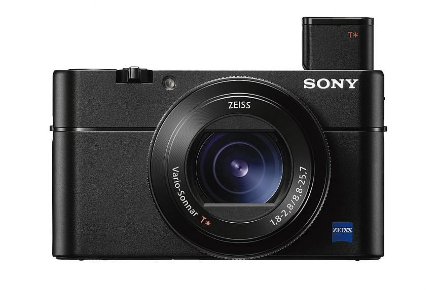 The Sony Cyber-shot RX100 V retains its predecessor's looks but its EVF will please street photographers.