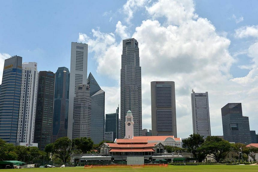 A view of the skyline in the Central Business District (CBD).