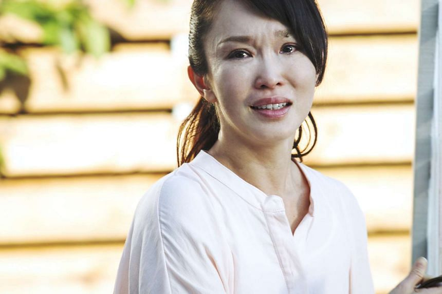 Fann Wong is convincing as a heartbroken mother in Packages From Daddy.