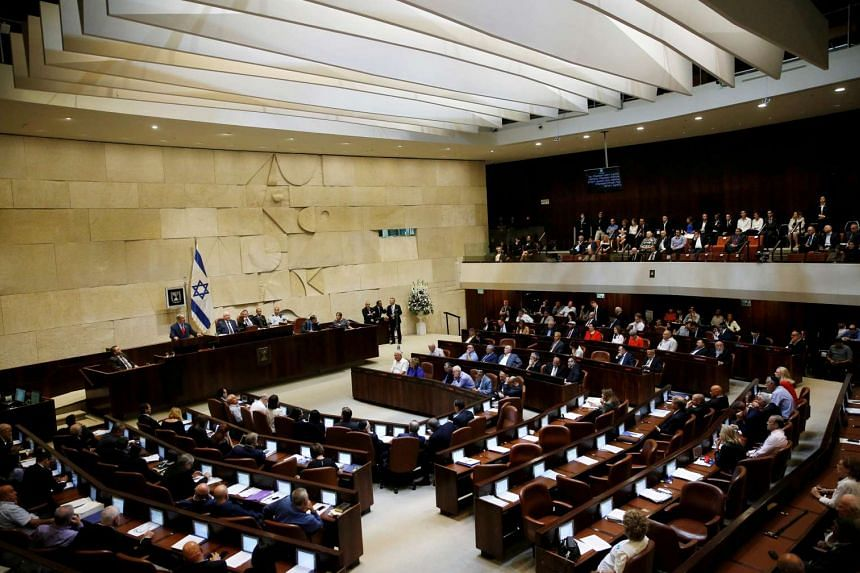 Israel's parliament will ease its dress code rules, an official said Thursday (Dec 15), after staffers demonstrated when colleagues who wore skirts deemed too short were barred from entering the building.
