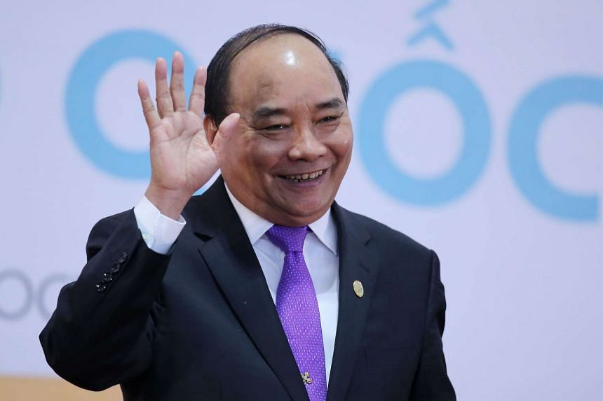 """In a phone call on Wednesday (Dec 14) with Vietnamese Prime Minister Nguyen Xuan Phuc, Trump """"affirmed the wish to cooperate with Vietnam to strengthen bilateral ties""""."""
