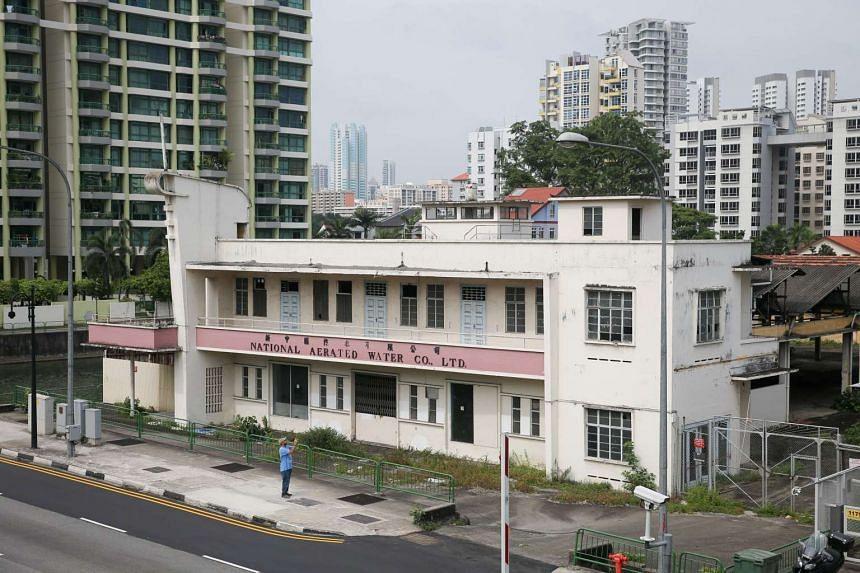 The National Aerated Water Company off  Serangoon Road.