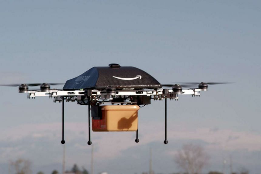 Global e-commerce company Amazon on Wednesday (Dec 14) announced its first successful delivery by drone.