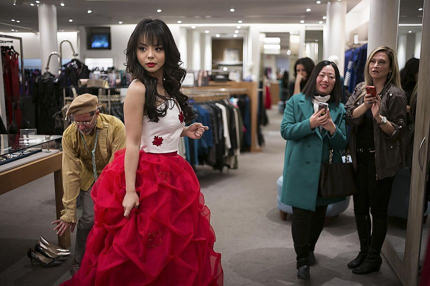 Miss World Canada Anastasia Lin was born in China but emigrated to Canada when she was 13. Friends and relatives say that Ms Lin, an outspoken critic of China's human rights abuses, has been barred from speaking to the media by Miss World officials,