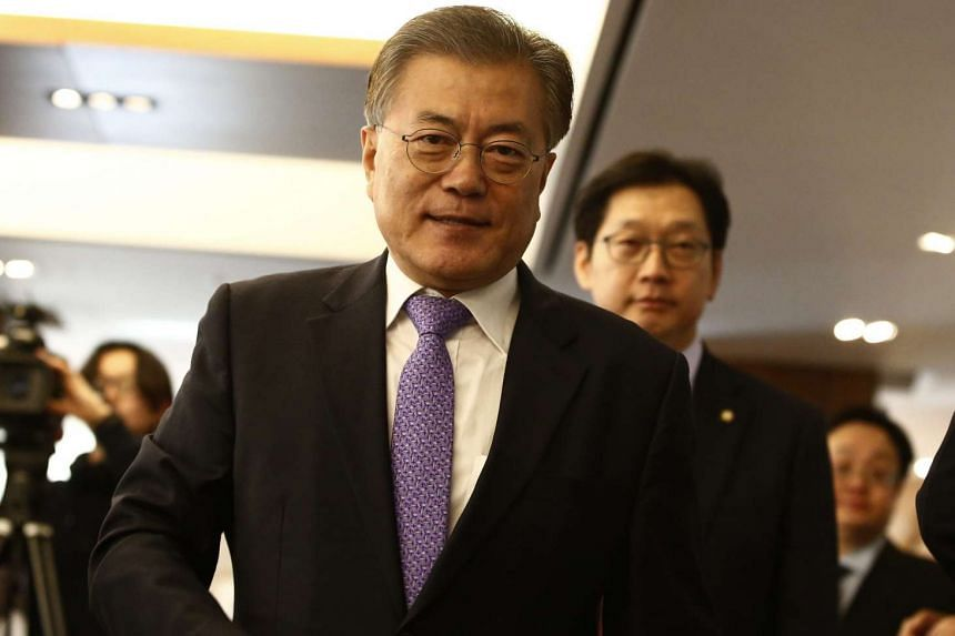 The former leader of South Korea's main opposition party Moon Jae In said on Thursday (Dec 15) he would run for president.