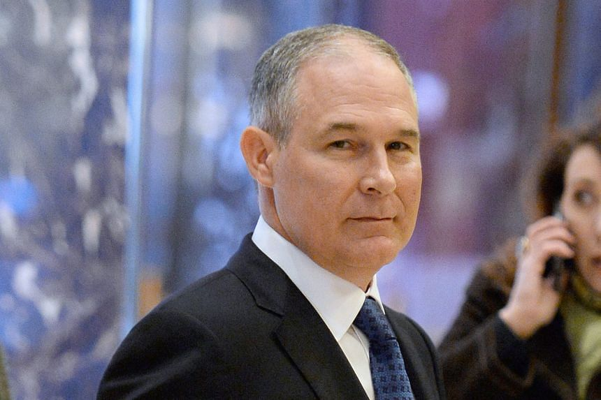 Mr Pruitt is set to head the Environmental Protection Agency.