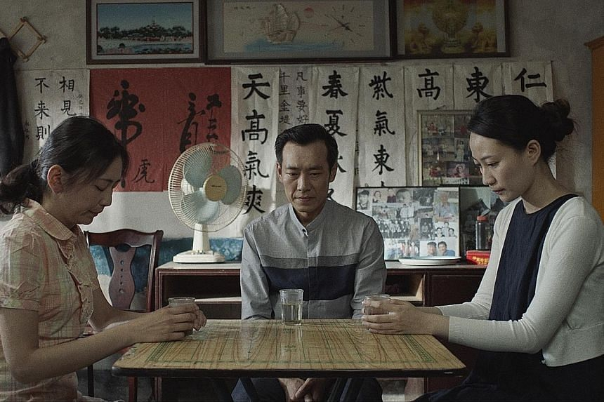 Seed, directed by Alvin Lee, stars (above from left) Qin Yu, Cui Yang and Pan Ruo Yao.