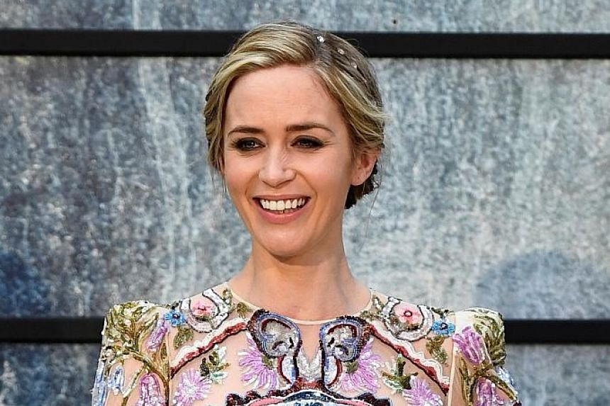 Emily Blunt landed a surprise nomination for lead actress for The Girl On The Train.