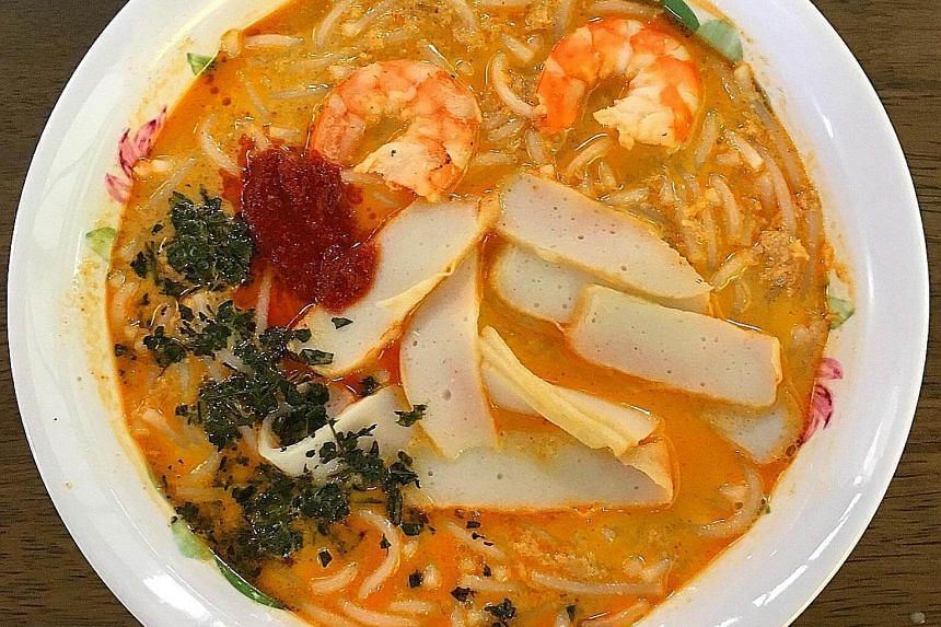 A bowl of Roxy Laksa.
