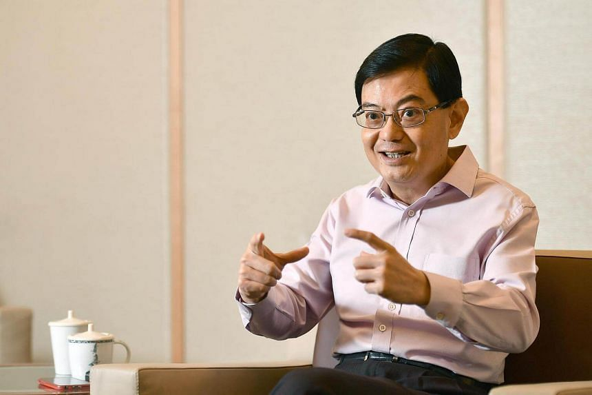 Finance Minister Heng Swee Keat in his first interview since returning to work after suffering a stroke in May.