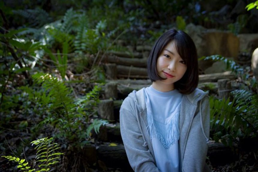 Mayu Tomita, who was nearly stabbed to death by an obsessed fan in May.
