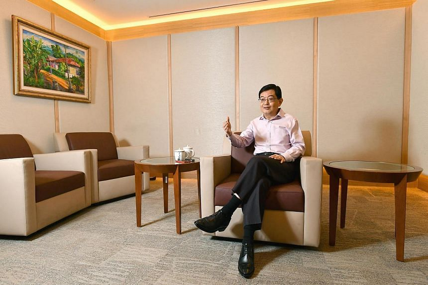 Finance Minister Heng Swee Keat says the Government will support workers in some industries as they adjust to the new environment.