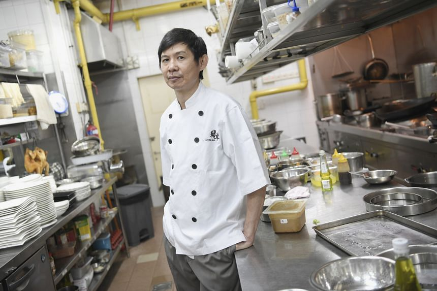 Mr Seah Siang Teck, who looks after the steamed food items at Crystal Jade, has been working at the restaurant chain for 25 years. He said he has never left because he enjoys the work environment there.