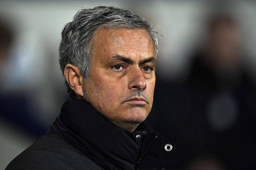 Manchester United's Portuguese manager Jose Mourinho looks on ahead of the English Premier League football match between West Bromwich Albion and Manchester United on Dec 17, 2016.