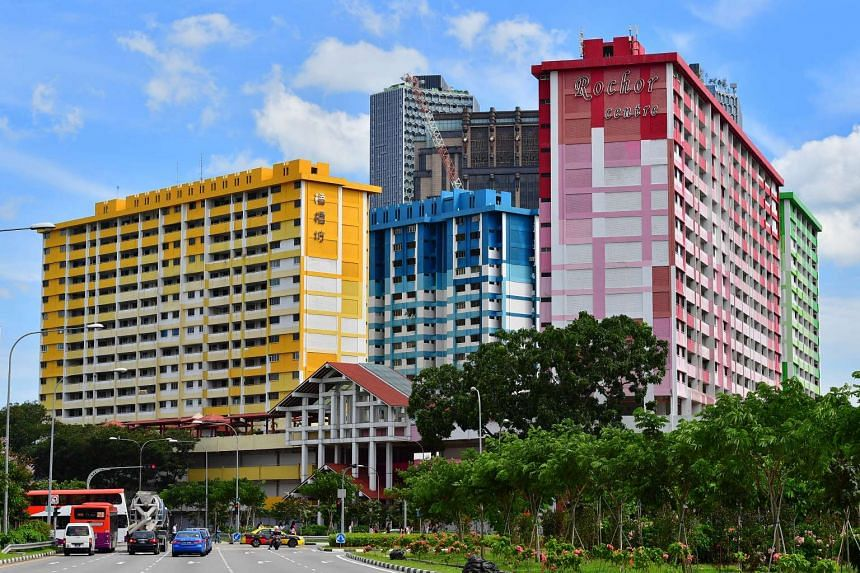 Rochor Centre, with its 567 Housing Board flats in four blocks, as well as 187 shops and eating houses, will have to make way for the southern stretch of the North-South Corridor, which is scheduled to be completed in 2026.