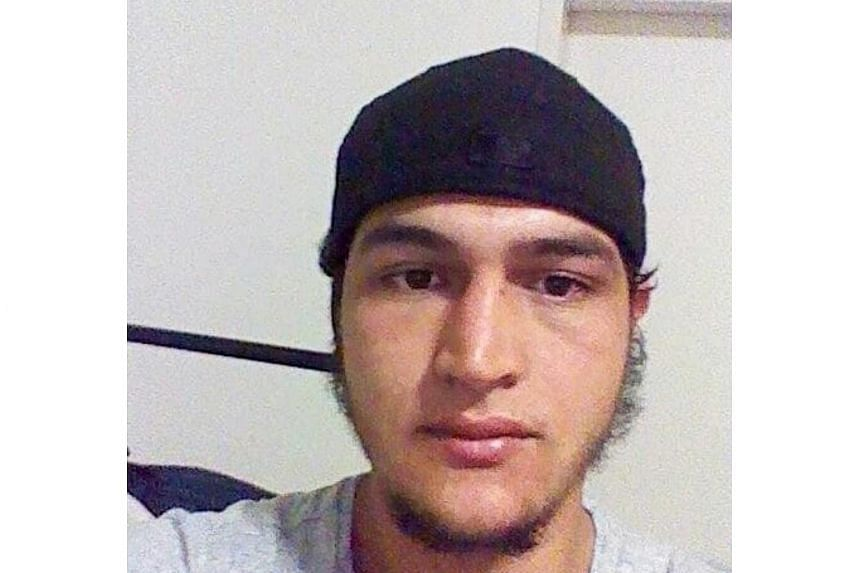 Anis Amri became the most wanted man in Europe on Wednesday as Germany offered a S$150,000 reward for information leading to his capture.