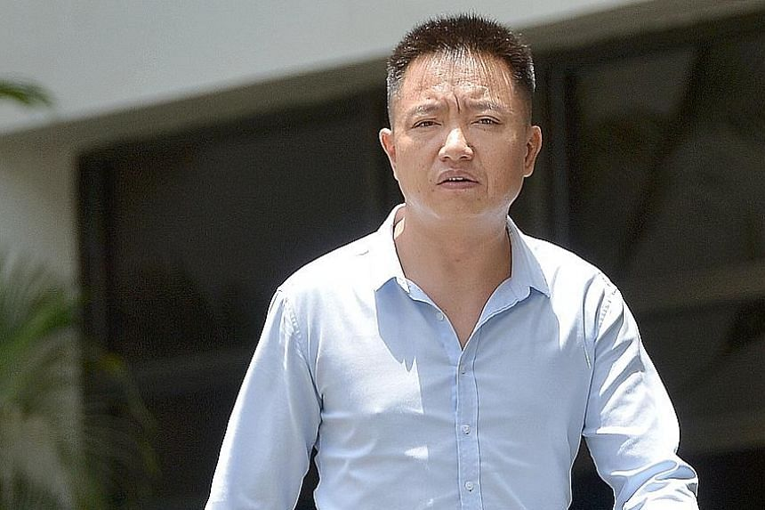 The victim complained to her husband that Li (left) molested her while massaging her inner thigh. Another masseur told the court that the company's policy is that massages should not be done on the inner thigh near the groin.