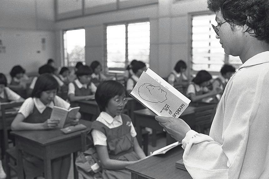 Local literature was taught to students in the 1980s as Singaporeans can relate better to the things that local authors write about.
