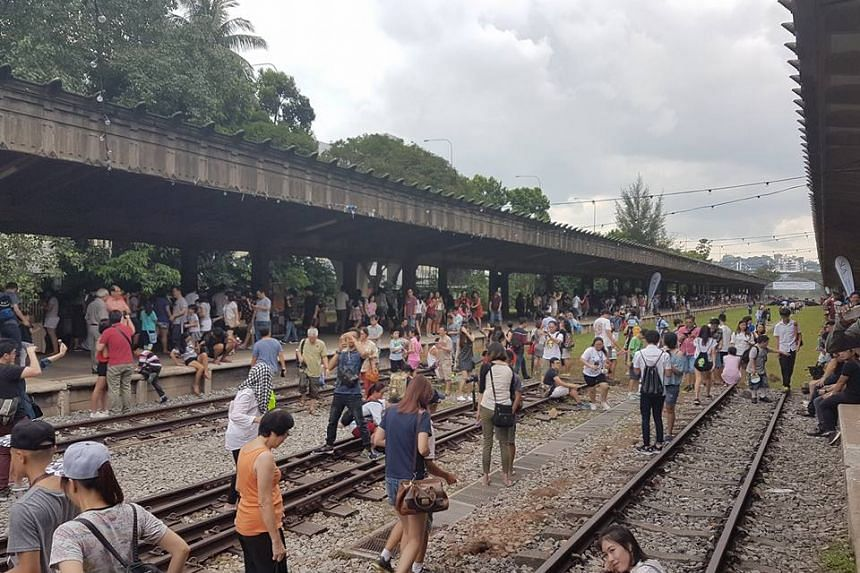 More than 30,000 people turned up to say farewell to the Tanjong Pagar Railway Station on Christmas. The station will be closed till 2025 for the construction of the Cantonment MRT station on the Circle Line.