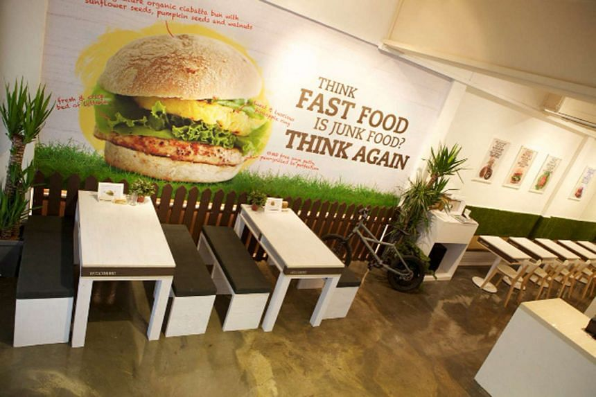 PETA named Singapore as the second most vegan-friendly city in Asia and highlighted some of the best vegan eateries in Singapore in its press release, including VeganBurg (above).