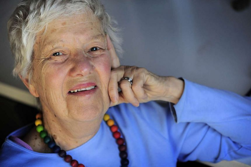 Astronomer Vera Rubin in her office at Carnegie Institution of Washington in 2010.