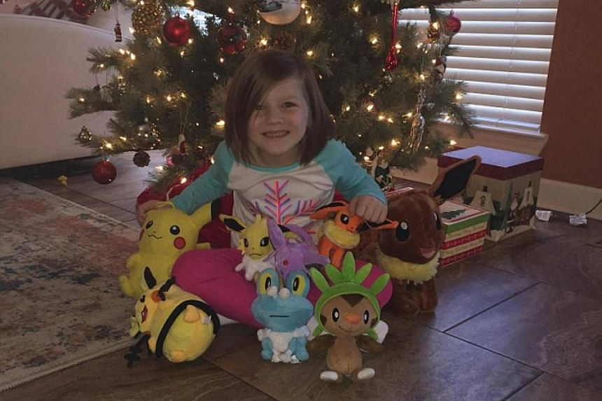 Six-year-old Ashlynd Howell bought 13 Pokemon toys worth US$250 on Amazon by using her sleeping mother's thumbprint to unlock an iPhone.