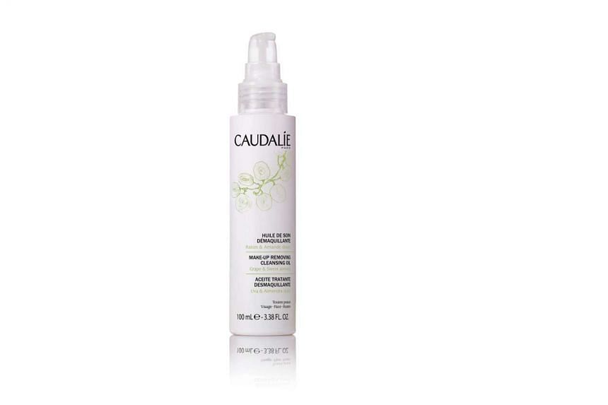 Make-up Removing Cleansing Oil, $32, from Caudalie at Sephora