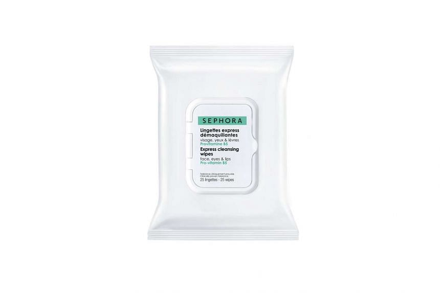 Express Cleansing Wipes, $14, from Sephora