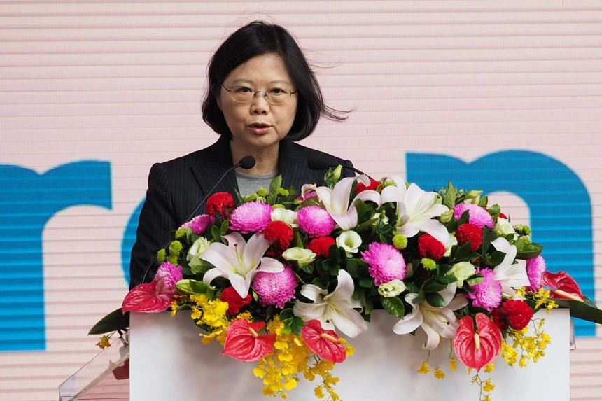 Taiwan President Tsai Ing-wen will transit through Houston and San Francisco on her way to and from visits to Honduras, Nicaragua, Guatemala and El Salvador.