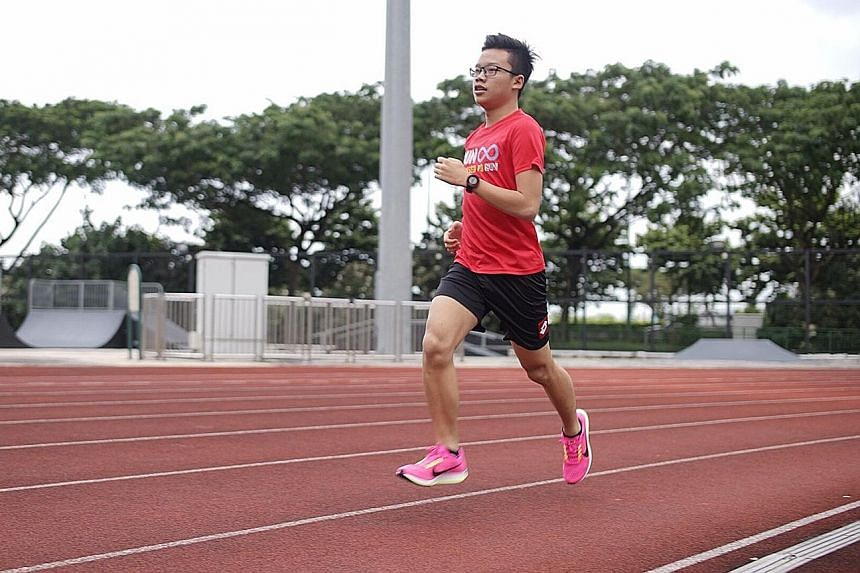 Emil Ng, 17, will compete in the Under-19 5km race at the Manulife-Flash X-Country Run at Bedok Reservoir on Jan 21. Seasoned runners say the sport improves the fitness of athletes in other disciplines and helps cut down on injuries.