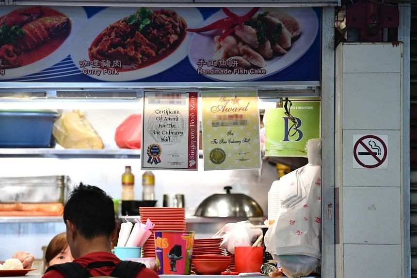 These certificates that some hawkers display at their stalls are not necessarily accolades for quality culinary skills, but advertisements instead.