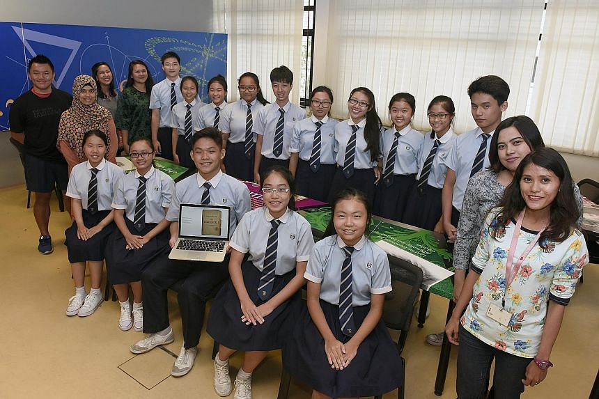 The students and teachers of Ngee Ann Secondary School who were involved in creating the iBooks describing three veterans' experiences during the 1964 racial riots, Konfrontasi from 1963 to 1966, and the collapse of Hotel New World in 1986.