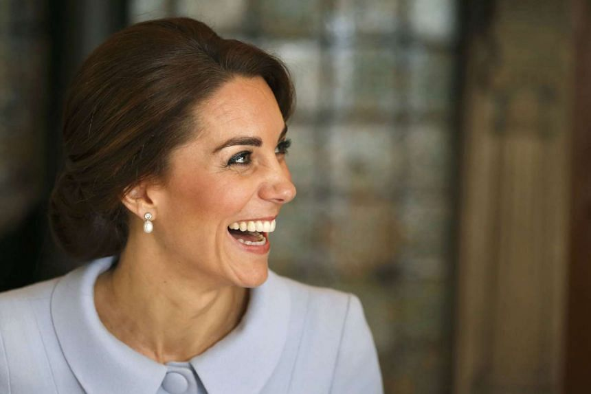 Britain's Duchess of Cambridge, Kate Middleton, during a trip to the  Netherlands in October 2016.
