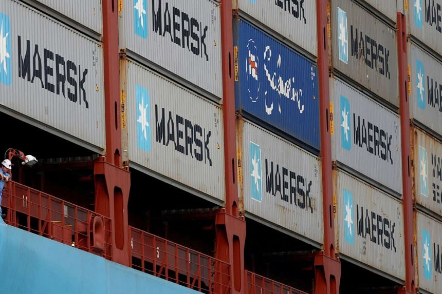 Maersk has teamed up with Alibaba to allow shippers of goods to reserve space on its vessels.