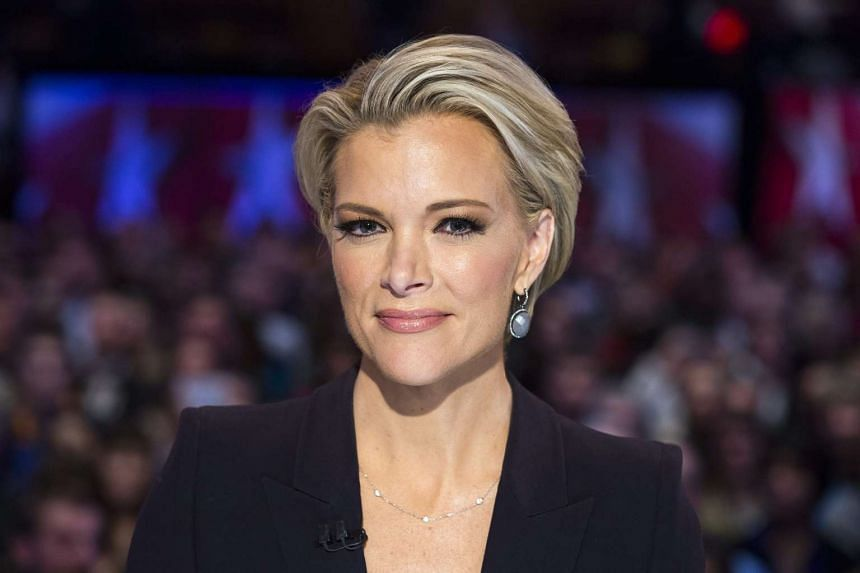 Megyn Kelly in a January 2016 file photo awaiting the start of a Republican Presidential debate.