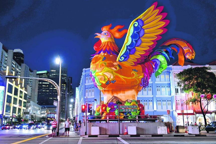 Roads and lanes will be closed to cars from Thursday (Jan 5) night till Saturday for Chinatown Chinese New Year Celebration 2017.