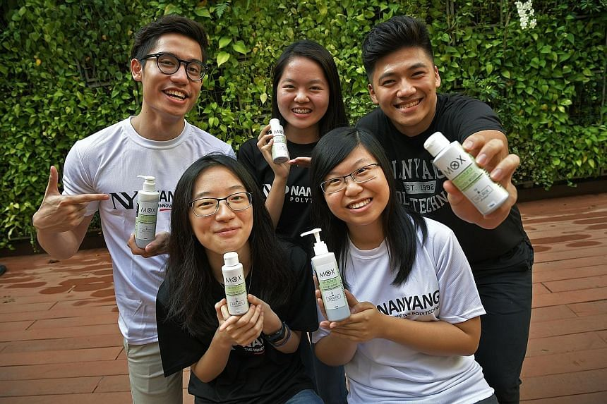 NYP team's fight against mozzies: Wash to repel, Environment News