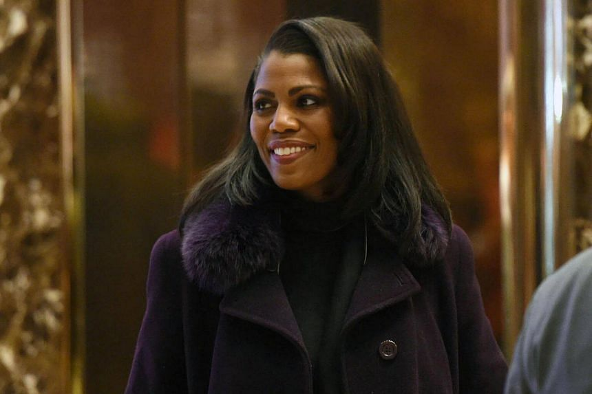 Reality television star and transition adviser Omarosa Manigault arriving at Trump Tower, on Dec 13, 2016, in New York.