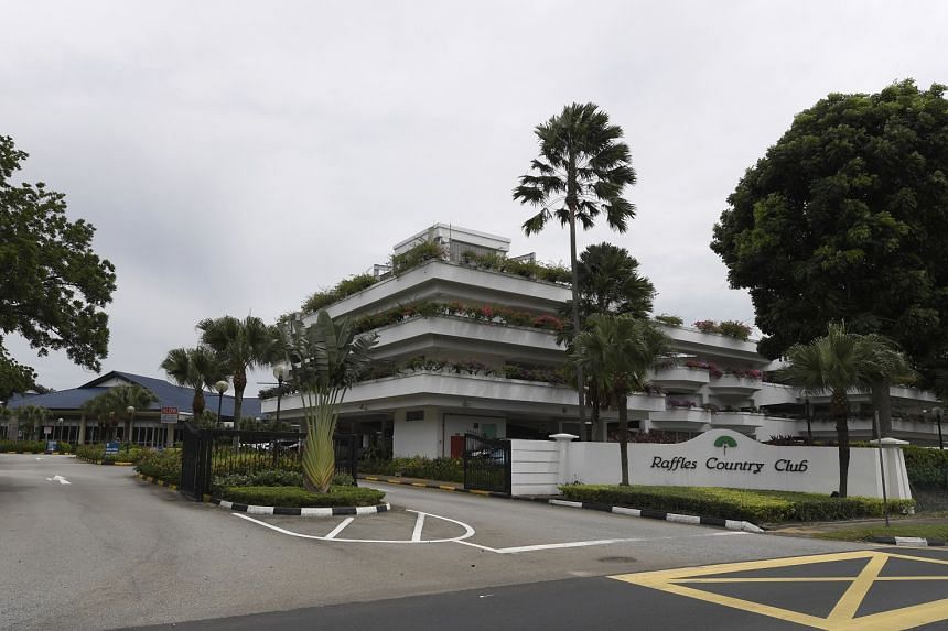 Raffles Country Club said it will be required to hand over the 143ha site to the Singapore Land Authority by July 31, 2018.