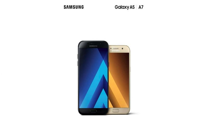 The Samsung Galaxy A7 (5.7-inch) and the Galaxy A5 (5.2-inch) are the first phones in the mid-range Galaxy A series to have IP68 water and dust resistance.
