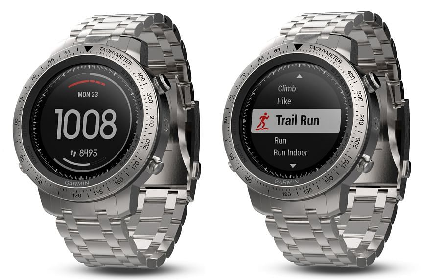 The Garmin Fenix Chronos' GPS antenna is said to be embedded around the bezel for faster reception of GPS signals.