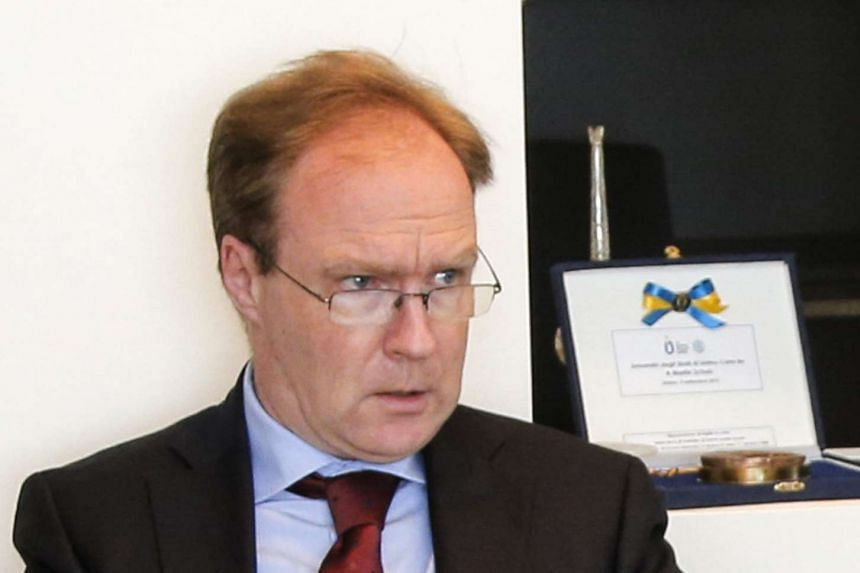Barrow will replace Ivan Rogers (above), who quit his post with a blistering attack on the government's plans to leave the EU.