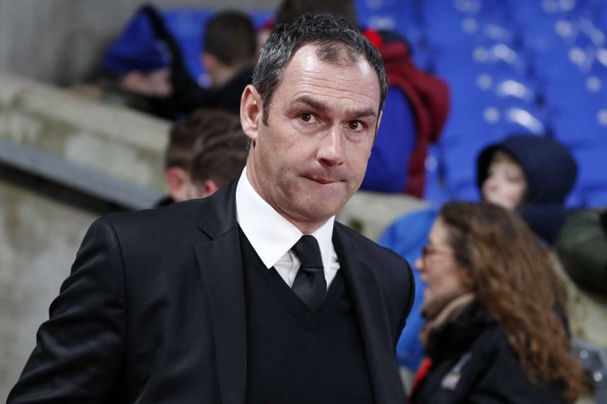 New Swansea manager, Paul Clement.