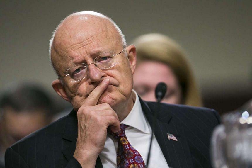 James Clapper, director of National Intelligence, testifies before the Senate Armed Services Committee on Capitol Hill, in Washington, Jan. 5, 2017.