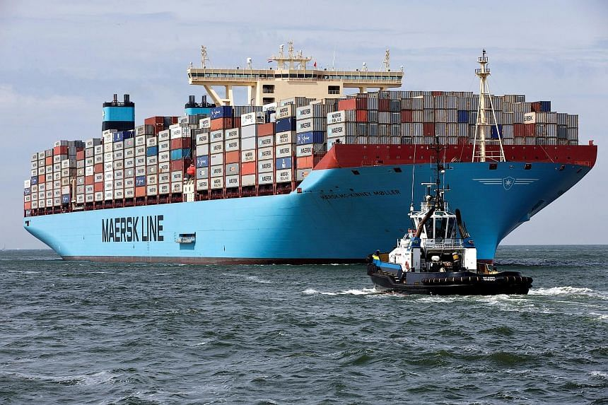 Maersk's new service is currently offered on routes from eight Chinese ports, including Shanghai and Ningbo, to ports in Europe and Asia.