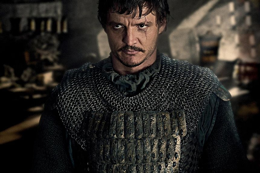 Pedro Pascal plays a Spanish mercenary who gets embroiled in the war between the Chinese army and flesh-eating monsters while searching for gunpowder in The Great Wall. American actor Pedro Pascal framed the handwritten letter he received from direct