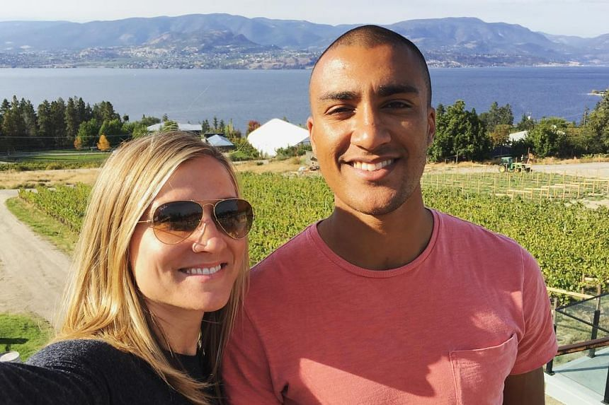 """Ashton Eaton and Brianne Theisen-Eaton in a photo from their joint Instagram account """"weareeaton""""."""