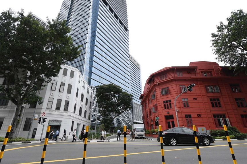 The Ministry of Law announced on Jan 5 that it will add 120,000 sq ft of floor space to enhance Singapore's international arbitration centre in Maxwell Chambers. This includes taking over, in May this year, the Red Dot Traffic Building.